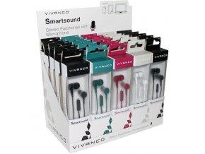 Vivanco SMARTSOUND sluchátka s mikrofonem