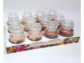 Bartek svíčka vosková v dóze 130g káva 0039