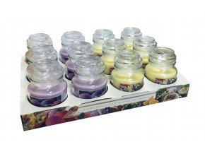 Bartek svíčka vosková v dóze 130g ovocné potěšení 0041