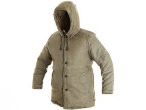 Pánský zimní kabát JUTOS, khaki