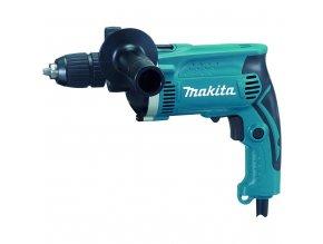 Makita HP1631K Příklepová vrtačka s kufrem,rychlosklíčidlo 1,5-13mm,710W