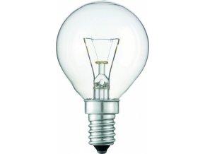 TES-LAMPS E14 40W ilum.čirá pro prům.a spec.použití