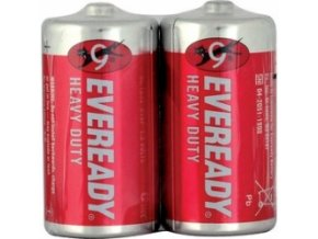 Energizer R14/2P Eveready Red