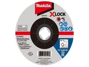 Makita E-00393  brusný kotouč 125x6 na kov x-lock