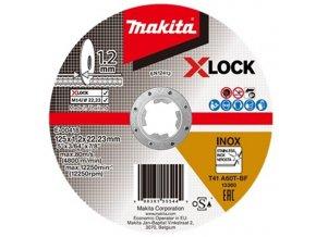 Makita E-00418  řezný kotouč 125x1,2 na nerez x-lock