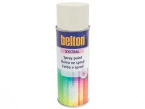 barva ve spreji BELTON RAL 9010, 400ml BÍ
