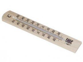 teploměr pokojový 18cm dřev. 12.1003.05