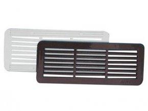 mřížka větrací krytka PH 150x60mm BÍ (2ks)