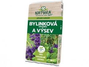 substrát bylinková zahrádka 10l NATURA