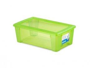box úložný SCATOLA 5l, 32,5x19x11cm s víkem PH ZE