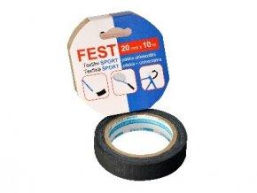 páska textilní 20mmx10m SPORT ČER FEST TAPE