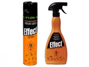 sprej un.na létající i lezoucí hmyz, insekticid EFFECT, 400ml aerosol
