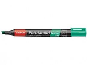 popisovač LUXOR permanent.251 ZE seřízlý hrot 2-5mm