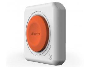 Allocacoc - POWERCUBE Power Remote (ovladač) bílá/oranžová