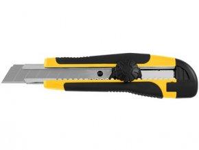 nůž ulamovací 18 mm PROFI plastový, točítko