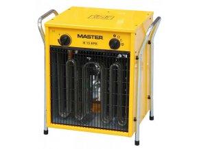 MASTER - elektrické topidlo o max. výkonu 15 kW - napětí 400V