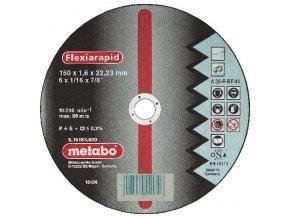 METABO - řezný kotouč - nerez - FLEXIRAPID 150x1,6x22,2mm rovný…