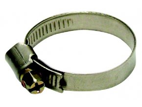 Nerezová spona na hadici 10-16mm W2