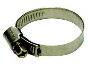 Nerezová spona na hadici 16-27mm W2