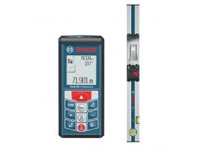 BOSCH - dálkoměr laserový GLM 80 + lišta R60