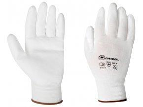 GEBOL - MICRO FLEX pracovní nylonové rukavice - velikost 9 …