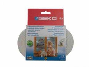 GEKO - Těsnění do oken samolepící EPDM guma E-profil 9x4mm/ 6m …