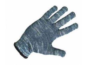 CERVA - BULBUL rukavice pletené nylon/bavlna - velikost 8