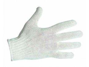 CERVA - AUK rukavice pletené z polyester/bavlna s pružnou…