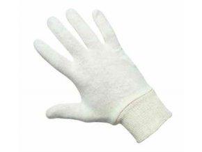 CERVA - TIT rukavice bavlněné s pružnou manžetou - velikost 10