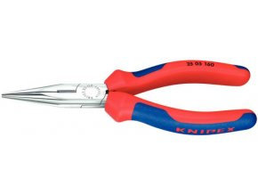 KNIPEX - Kleště s půlkulatými čelistmi 160mm, potah PVC