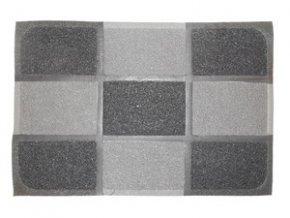 PRECIS - rohožka 40x60cm PVC - šachovnice
