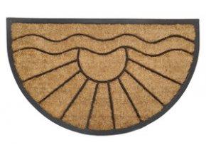PRECIS - rohožka 45x75cm kokos + guma - půlkruh