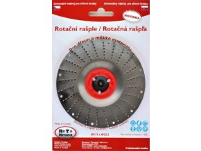 ROTO - Rotační rašple 125x22,2mm - 2,0mm - čepel standard