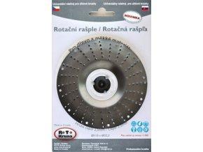 ROTO - Rotační rašple 125x22,2mm - 2,5mm - čepel hrubá