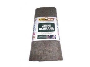 Garden Wool - zimní ochranná rohož šedá 200x50x0,5cm