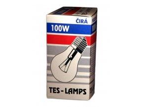 Žárovka průmysl E27 100W - čirá
