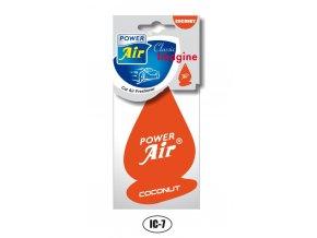 POWER Air - papírový osvěžovač vzduchu IMAGINE CLASSIC Coconut
