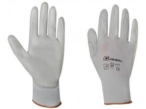 GEBOL - MICRO FLEX pracovní rukavice - velikost 6 (blistr)