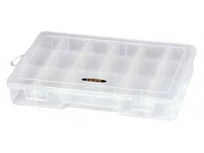 TOOD - Plastový organizér 268x180x53mm - 7 přepážek