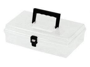 """TOOD - Plastový kufr 12"""" 300x200x90mm - transparentní"""