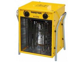 MASTER - elektrické topidlo o max. výkonu 9kW - napětí 400V