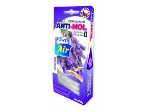 POWER Air - odpuzovač šatních molů ANTI-MOL Lavender - 2x 20g