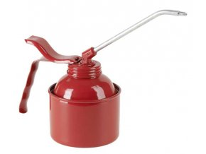 PRESSOL - plechová olejnička červená 350ml