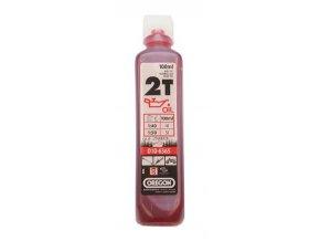 OREGON - polosyntetický olej 2T 100ml - červený