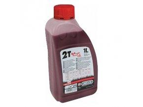 OREGON - polosyntetický olej 2T 1 litr - červený
