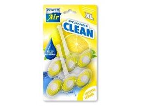 POWER Air - osvěžovač vzduchu POWER CLEAN WC Crystal Lemon