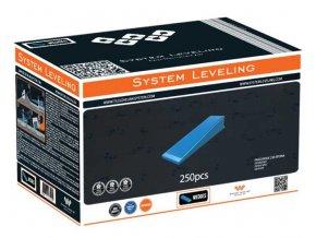System Leveling - klíny (250 ks)