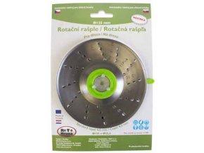 ROTO - Rotační rašple 125x22,2mm - 4,0mm - čepel