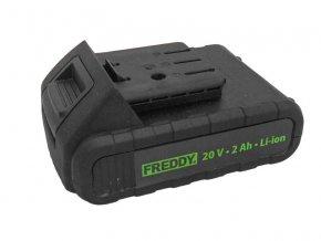 FREDDY - náhradní baterie k FR004/FR006 20V 2,0Ah, starý typ,…