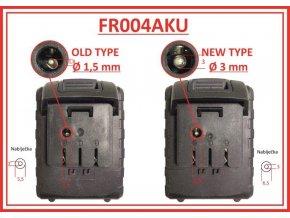 FREDDY - náhradní nabíječka k FR004 a FR006 - nový typ